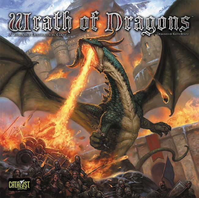 Wrath Of Dragons Box Front