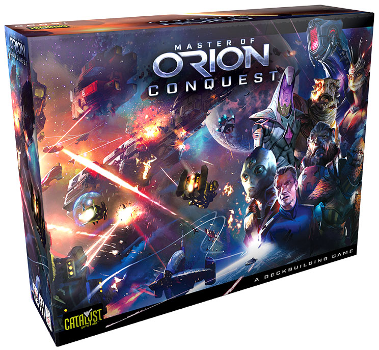 Master Of Orion: Conquest Dbg Box Front