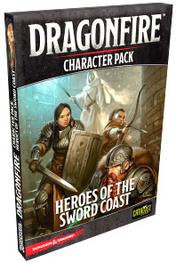Dungeons And Dragons: Dragonfire Dbg - Character Expansion Pack 1 - Heroes Of The Sword Coast Box Front