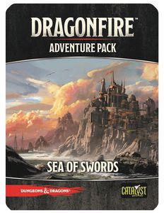 Dungeons And Dragons: Dragonfire Dbg - Adventures - Sea Of Swords Game Box