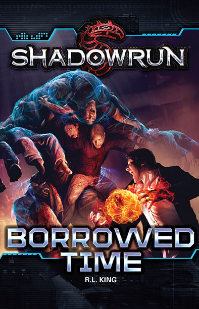 Shadowrun Rpg: Borrowed Time Paperback Box Front