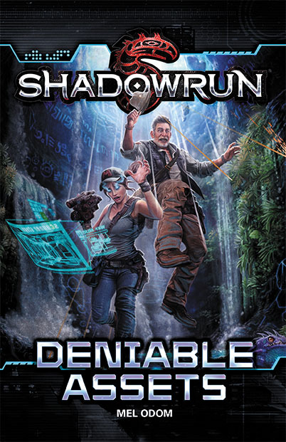Shadowrun Rpg: Deniable Assets Paperback Box Front