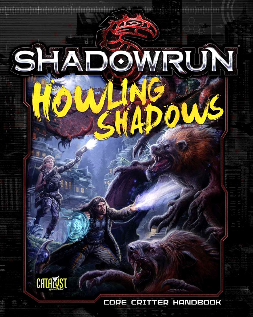 Shadowrun Rpg: Howling Shadows Hardcover Box Front