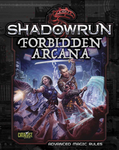 Shadowrun Rpg: Forbidden Arcana Box Front