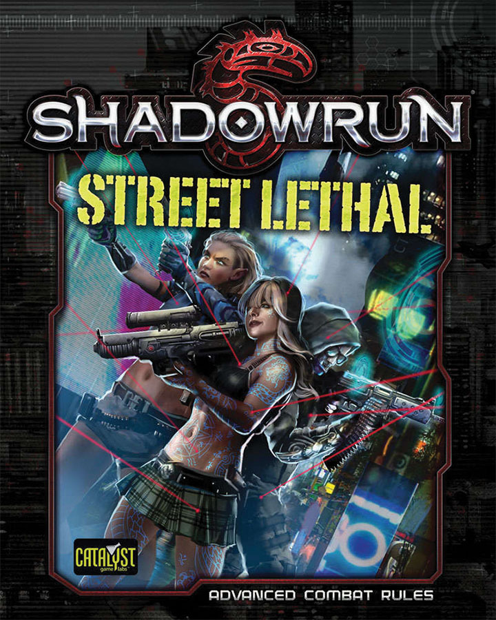 Shadowrun Rpg: Street Lethal Game Box