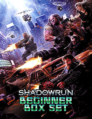 Shadowrun Rpg: Beginner Box Set Box Front
