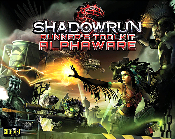 Shadowrun Rpg: Runners Toolkit Alphaware Box Set Box Front