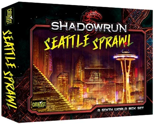 Shadowrun Rpg: Seattle Sprawl Box Set Box Front