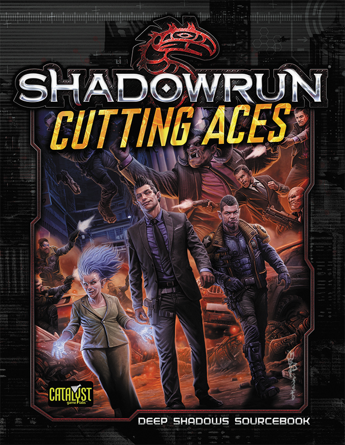 Shadowrun Rpg: Cutting Aces Box Front