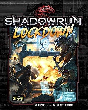 Shadowrun Rpg: Lockdown Hardcover Box Front
