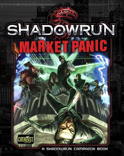 Shadowrun Rpg: Market Panic Box Front