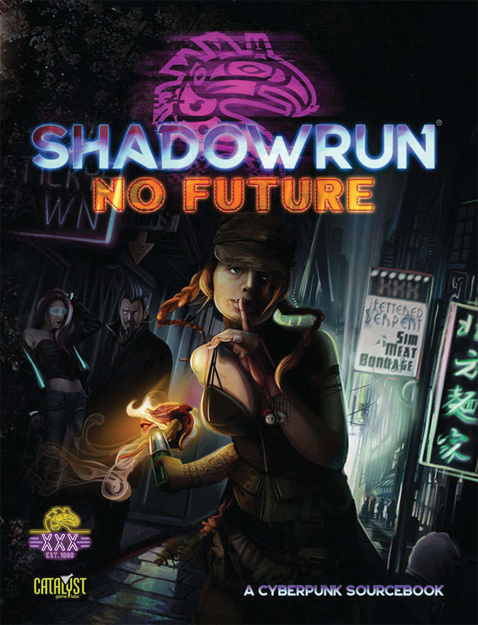 Shadowrun Rpg: No Future Game Box