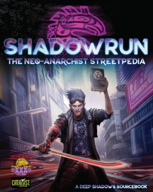 Shadowrun Rpg: Neo-anarchist`s Streetpedia Game Box