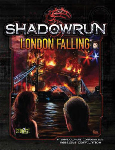 Shadowrun Rpg: London Falling Box Front