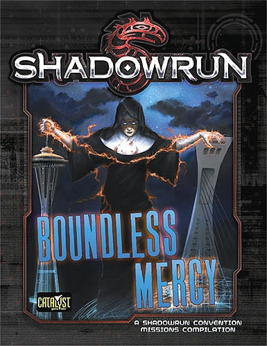 Shadowrun Rpg: Boundless Mercy Box Front