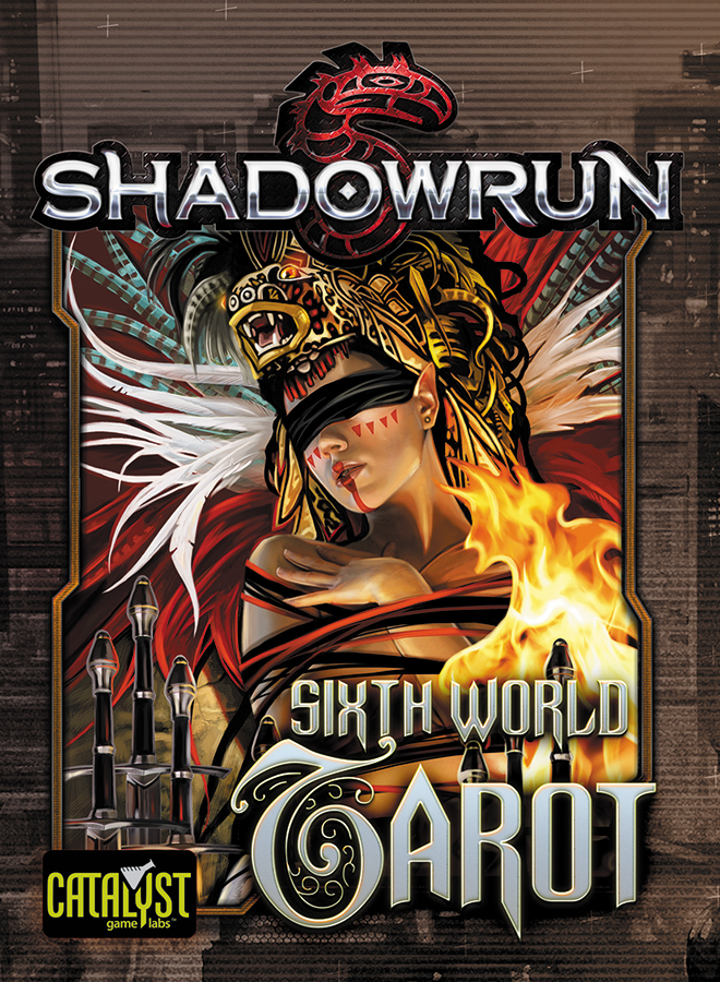 Shadowrun: Sixth World Tarot Box Front