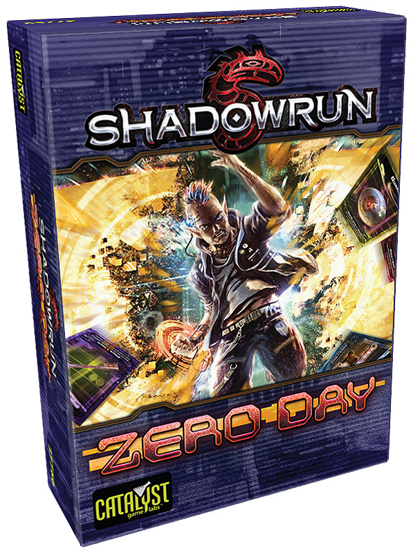 Shadowrun: Zero Day Card Game Box Front