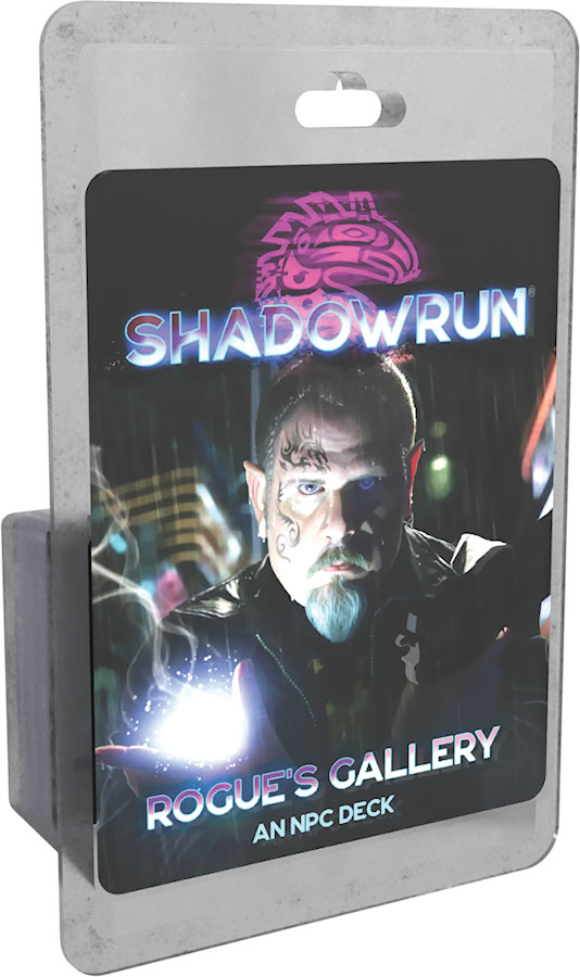 Shadowrun Rpg: 6th Edition Rogue`s Gallery - An Npc Deck Game Box