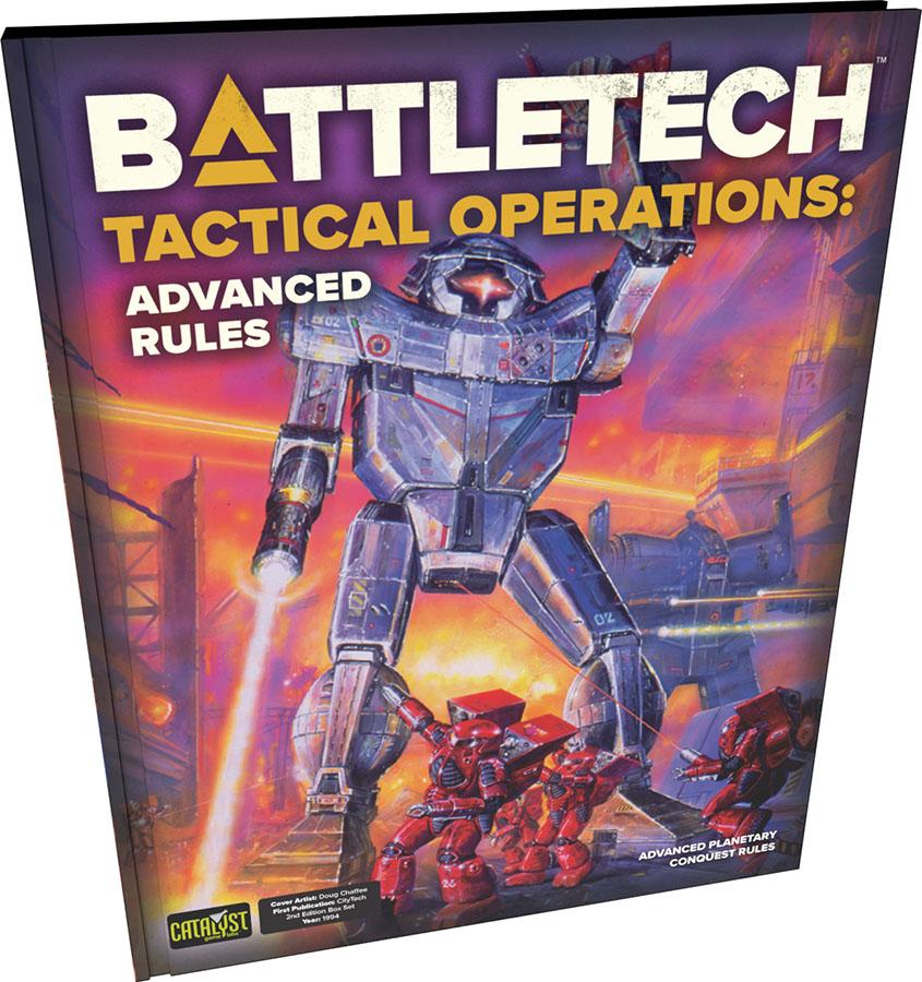 Battletech: Tactical Operations - Advanced Rules