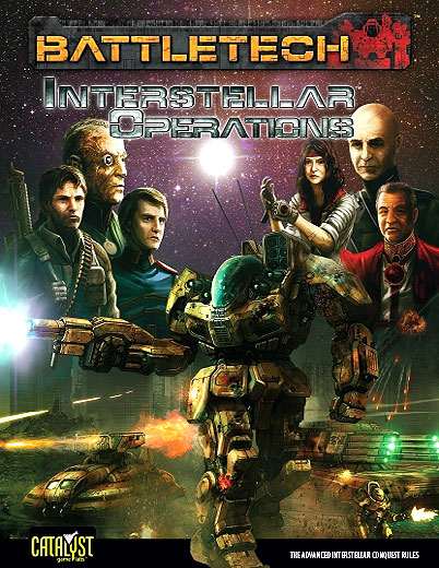 Battletech: Interstellar Operations Box Front