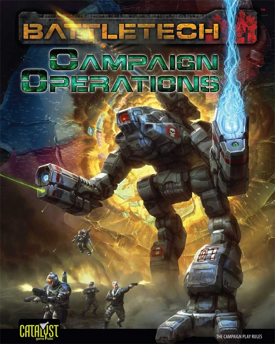 Battletech: Campaign Operations Hardcover Box Front