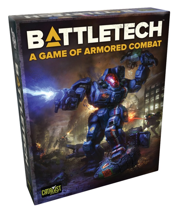 Battletech: The Game Of Armored Combat Game Box