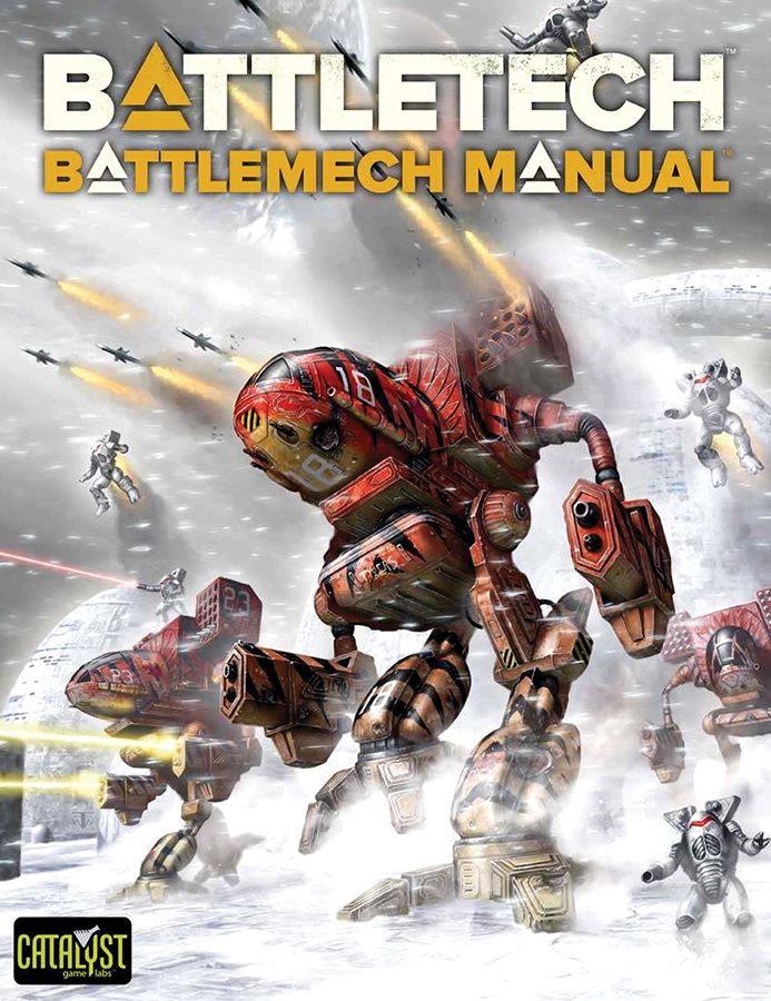 Battletech: Battlemech Manual Box Front