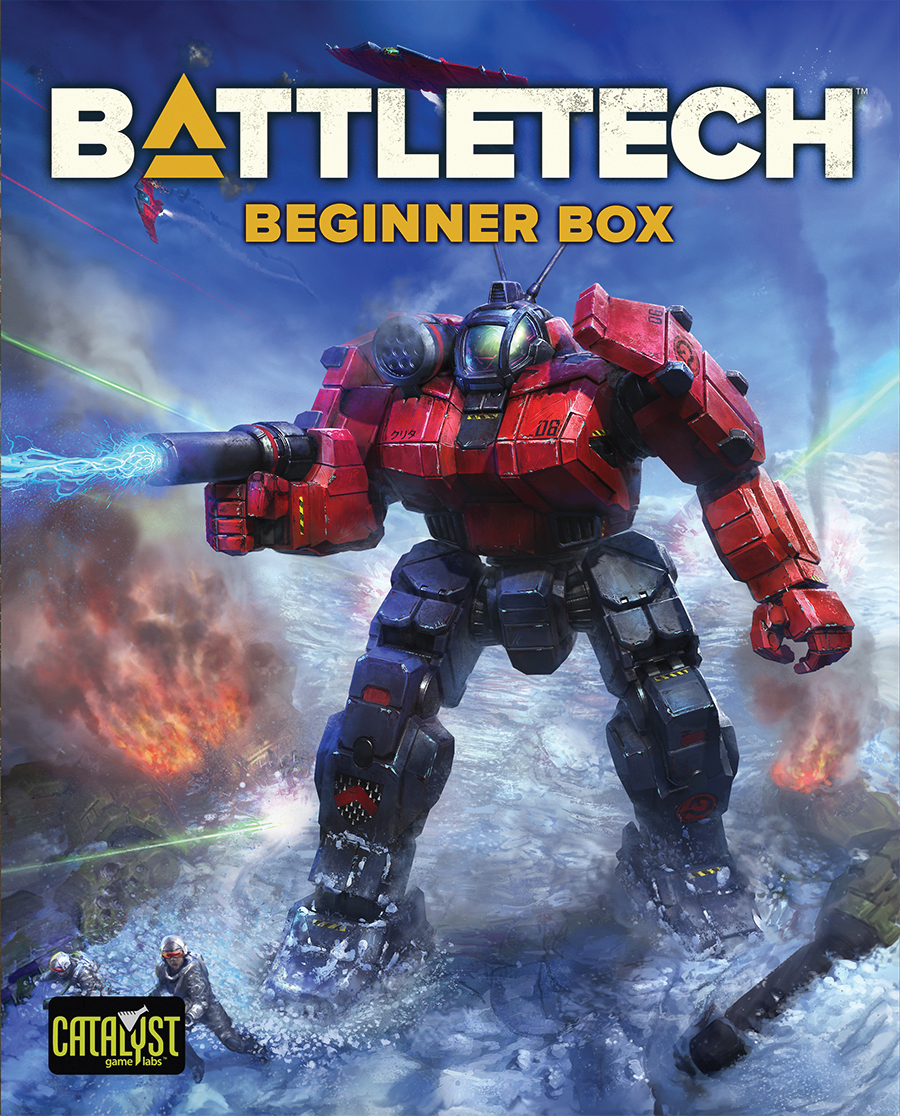 Battletech: Beginner Box Box Front