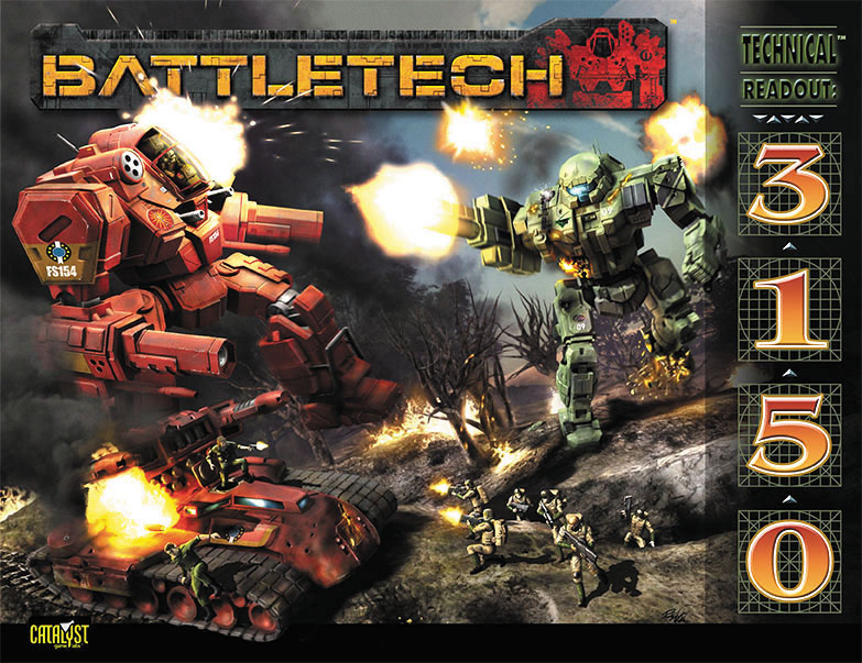 Battletech: Technical Readout 3150 Box Front