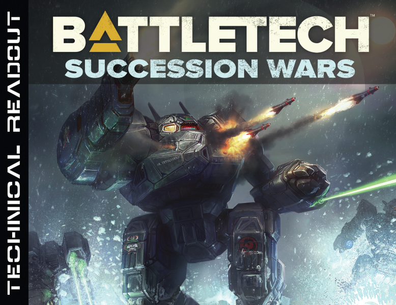 Battletech: Technical Readout Succession Wars Box Front