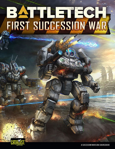Battletech: Historical - First Succession War Box Front