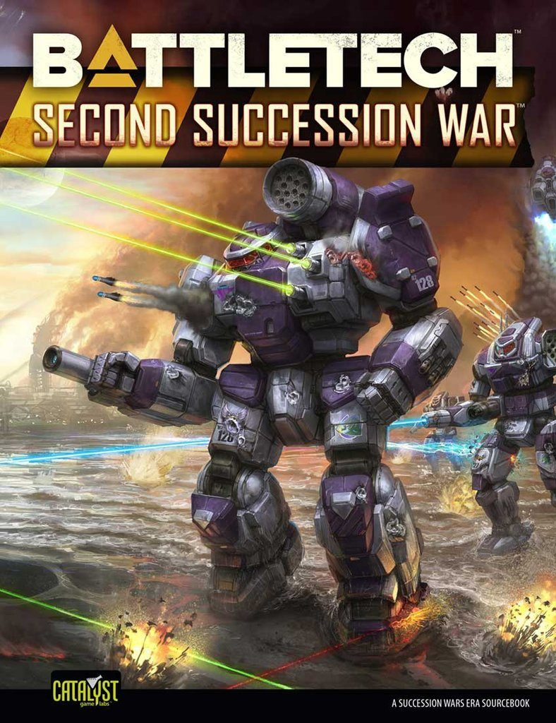 Battletech: Historical - Second Succession War Box Front