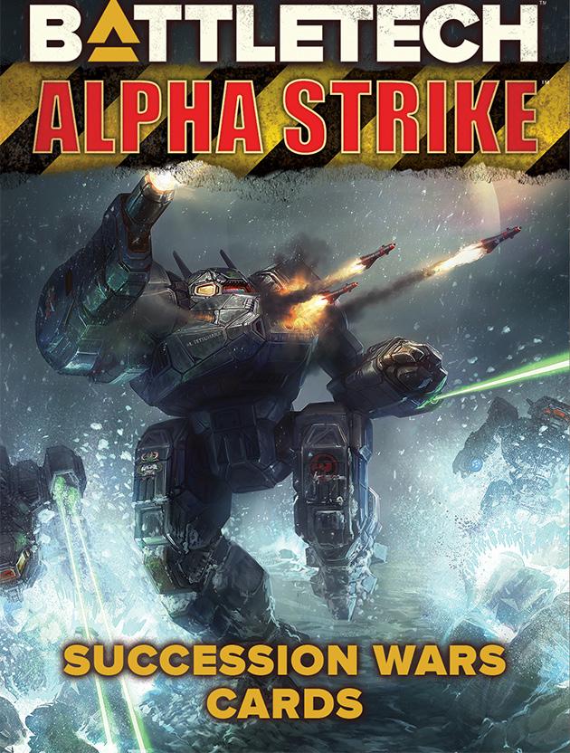 Battletech: Alpha Strike Game Aids - Succession Wars Cards