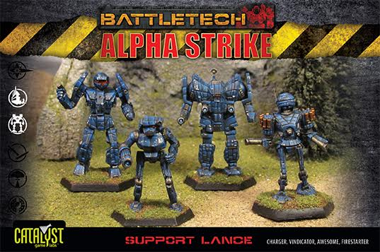 Battletech: Support Lance Pack Box Front