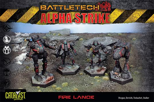 Battletech: Fire Lance Pack Box Front