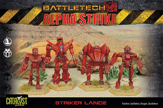 Battletech: Striker Lance Pack Box Front