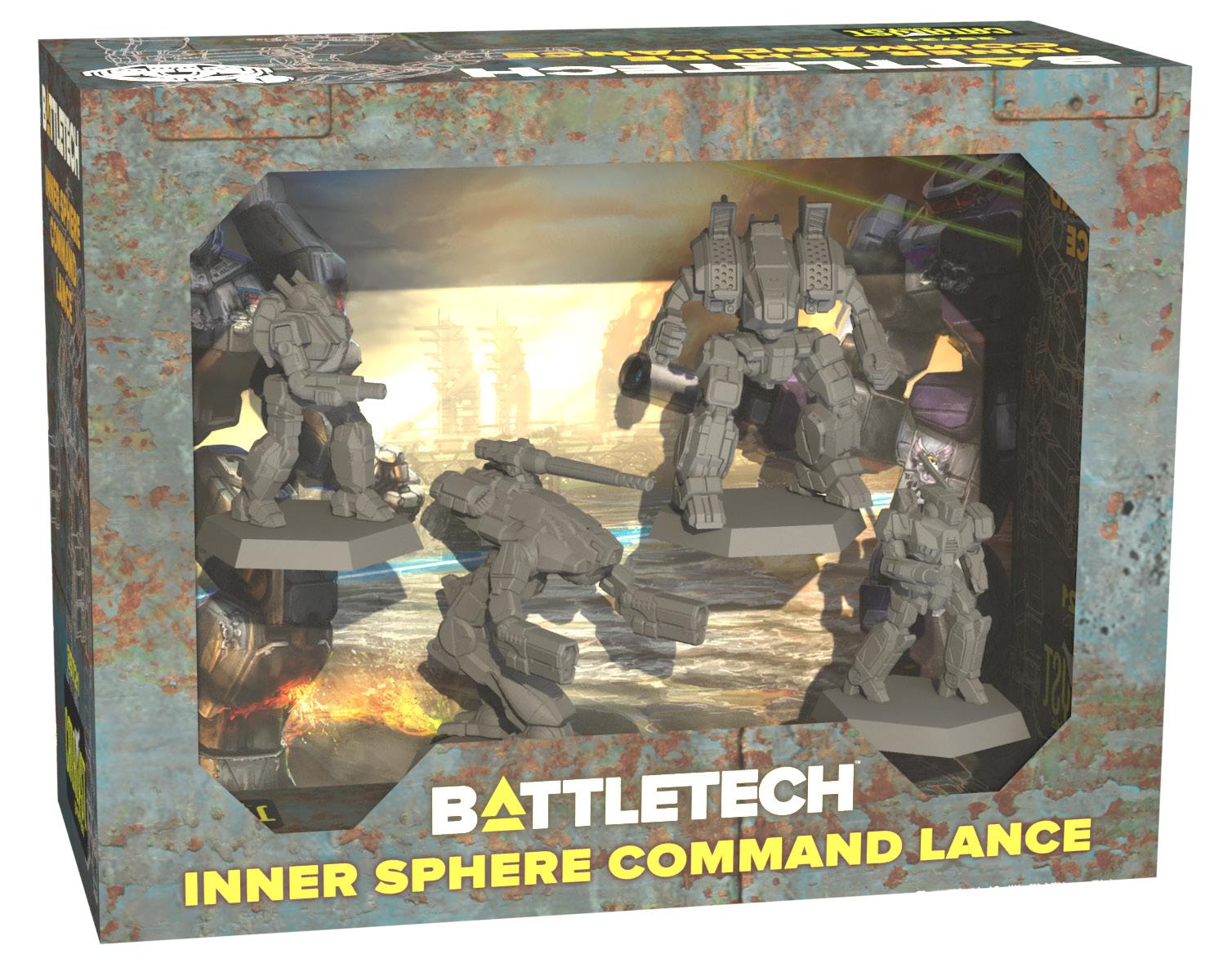 Battletech: Miniature Force Pack - Inner Sphere Command Lance