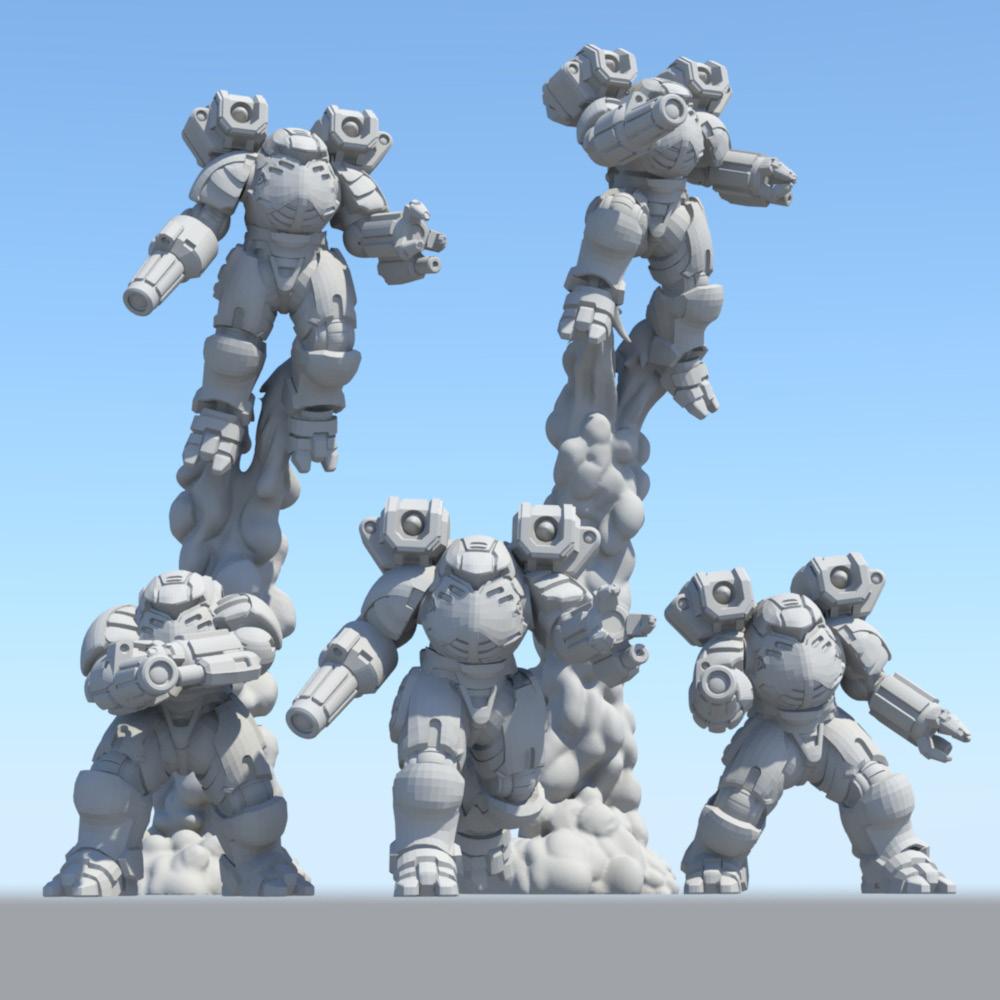 Battletech: Miniature Force Pack - Elemental Star