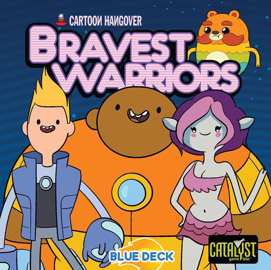 Encounters: Bravest Warriors-blue Deck Box Front
