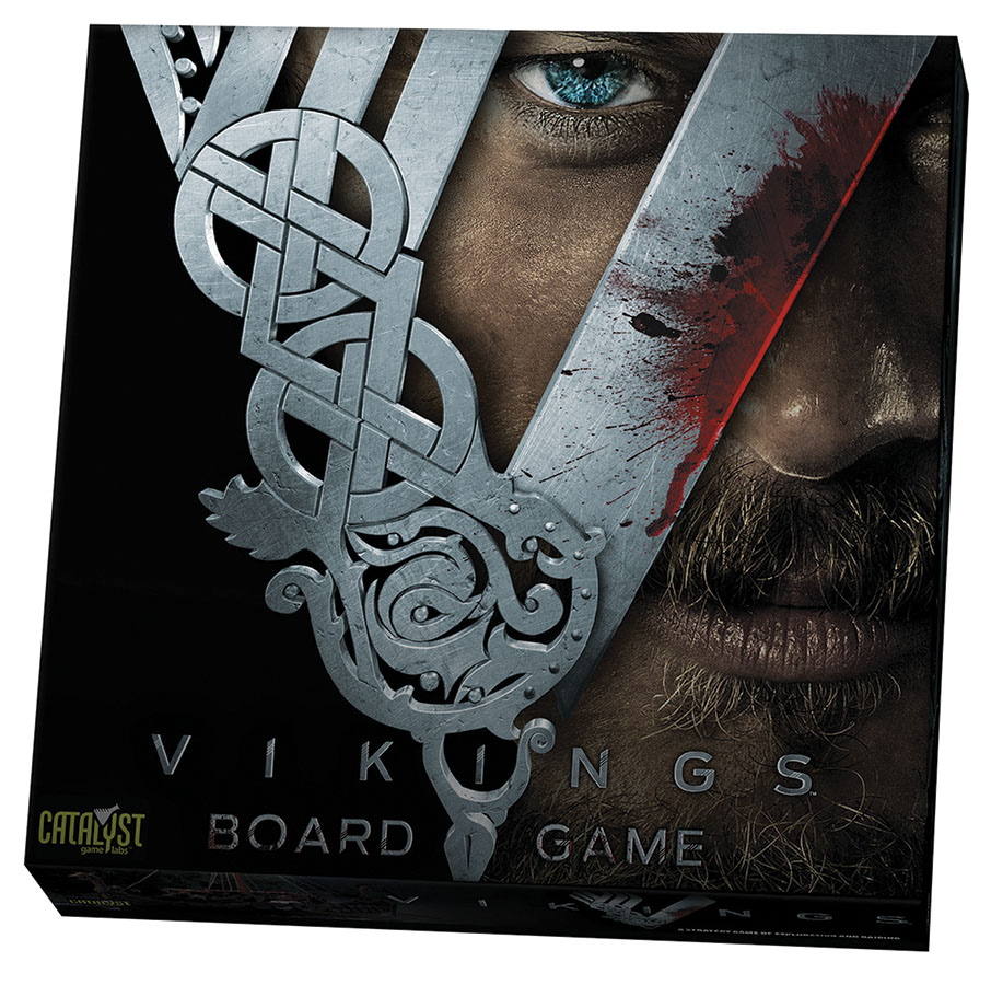 Vikings: The Board Game Box Front