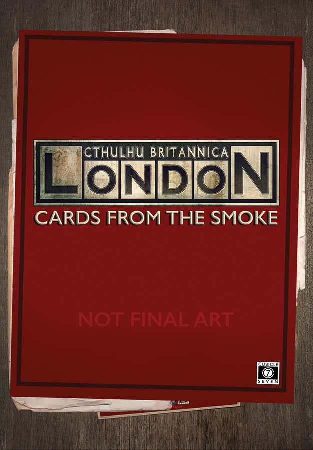 Call Of Cthulhu: Cthulhu Britannica - The Cards From The Smoke Box Front