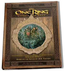 The One Ring Rpg: Core Rules Revised Hardcover Box Front