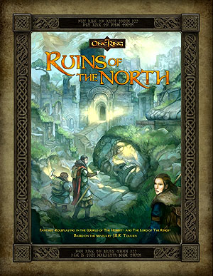 The One Ring Rpg: Ruins Of The North Box Front