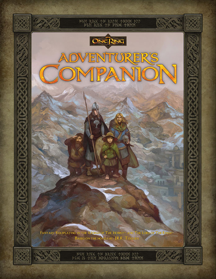 The One Ring Rpg: The Adventurer`s Companion Box Front