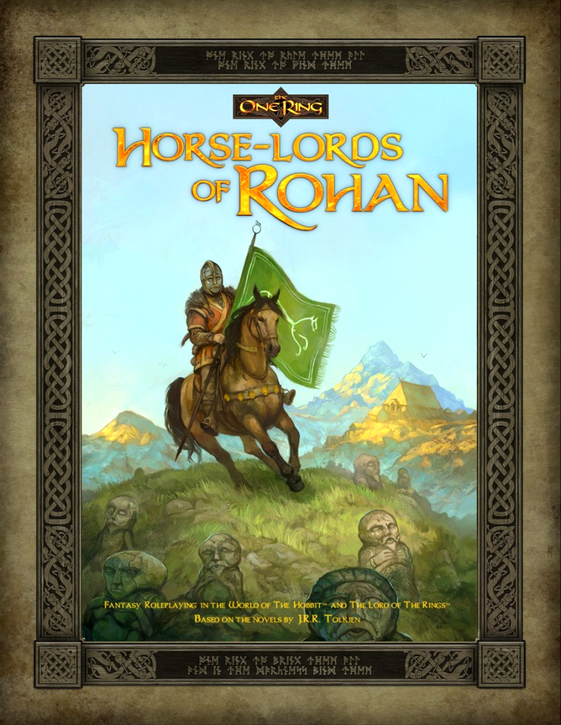 The One Ring Rpg: Horse Lords Of Rohan Box Front