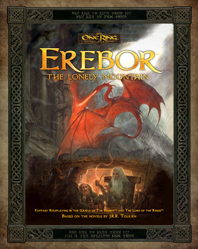 The One Ring Rpg: Erebor - The Lonely Mountain! Box Front