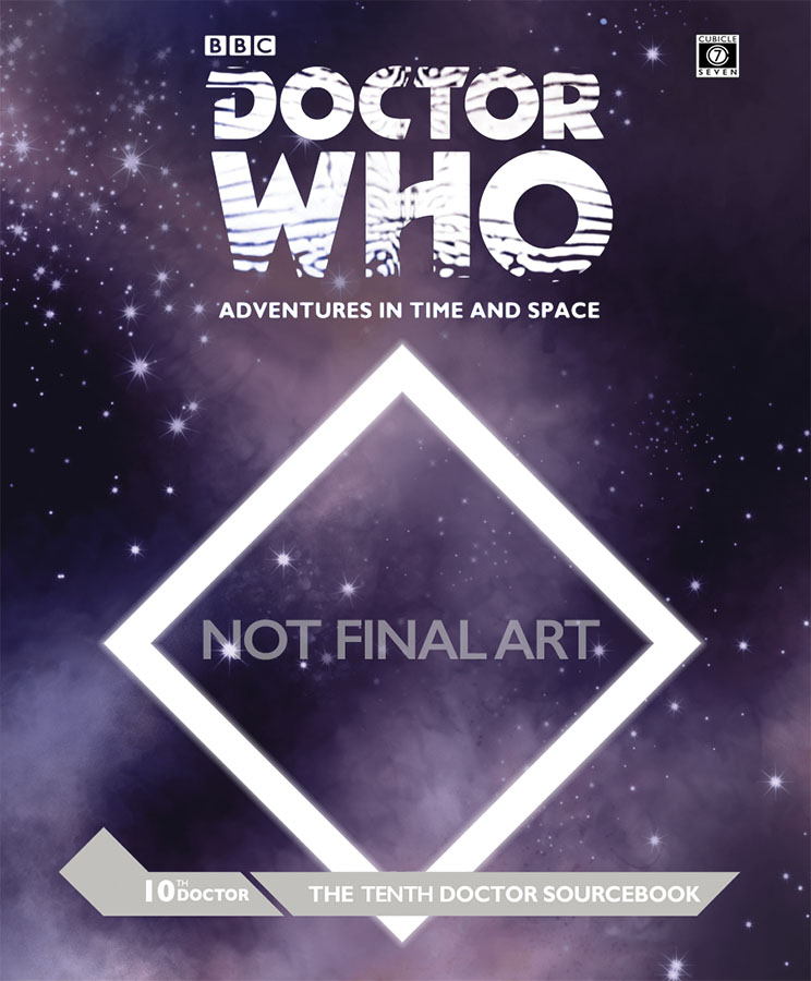 Doctor Who Rpg: The Tenth Doctor Sourcebook Hardcover Box Front