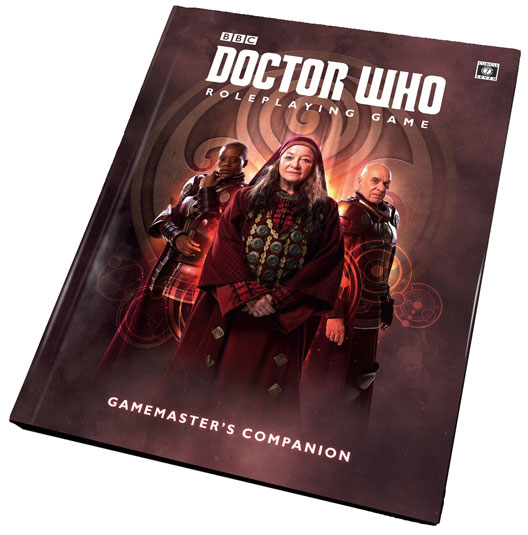 Doctor Who Rpg: The Gamemaster Companion Box Front