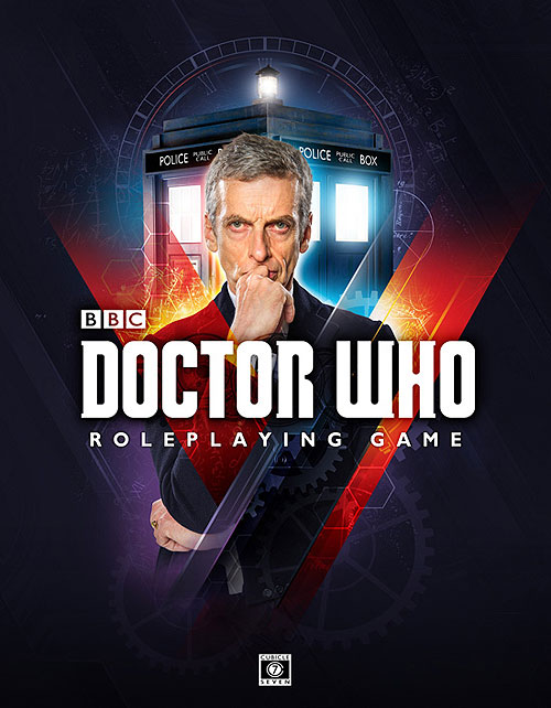 Doctor Who Rpg: Core Rules Hardcover Box Front