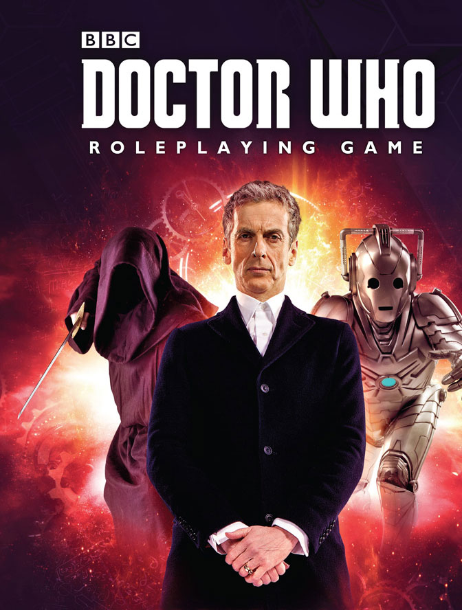 Doctor Who Rpg: All Of Time And Space V1 Box Front
